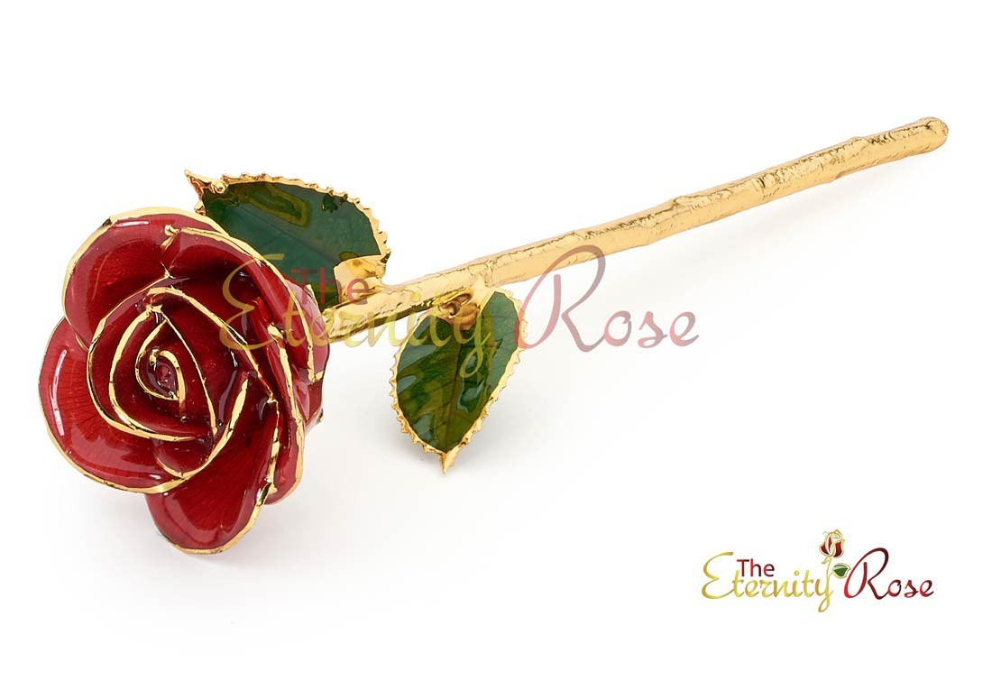 Gifts for Her-Gold Dipped Rose