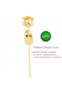 24 Karat Gold-Dipped Rose Without Dislay Case