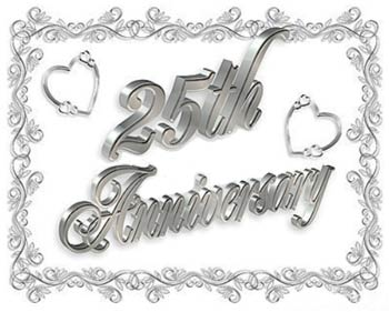 silver wedding anniversary gift ideas to delight your wife wedding anniversary clip art images wedding anniversary clip art borders