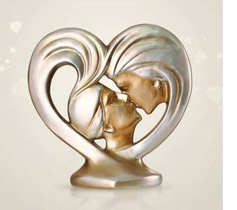 27th anniversary gifts that are out of the ordinary romantic sculpture negle Gallery