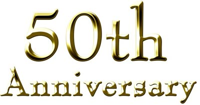 50th anniversary icon